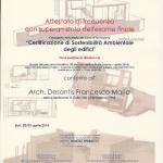 Certificazione di sostenibilità ambientale degli edifici - Modulo 1Q